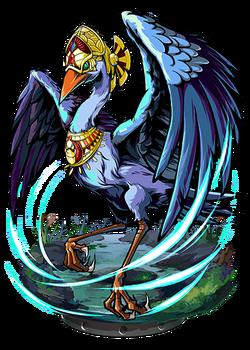 Bennu, Bird Divine II Figure