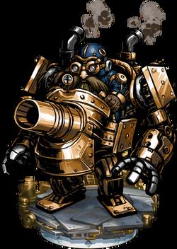 Steamchariot Mk I Figure