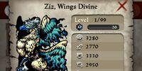 Ziz, Wings Divine