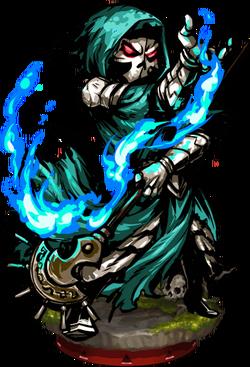 Undead Wizard Figure