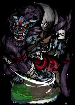 Telida, Ape Savage Figure
