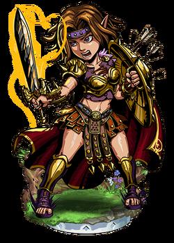 Hervor, the Cursed Blade II Figure