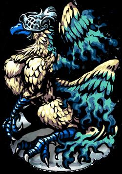 Ziz, Wings Divine Figure