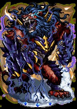 Rampant Lion II Figure