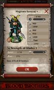 Naginata Samurai + Base Stats