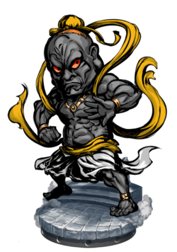 Hum-Oh, Guardian II Figure
