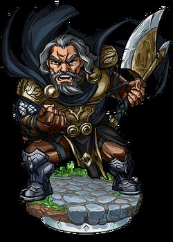 Hagen, Brave King Figure