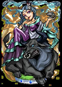 Medb, Jealous Queen Figure