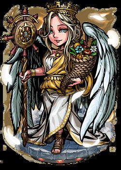 Tyche, Goddess of Luck Figure