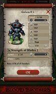 Golem II plus (base stats)