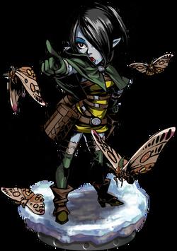 Moth Tamer + Figure
