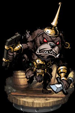 Kobold Gatekeeper II Figure