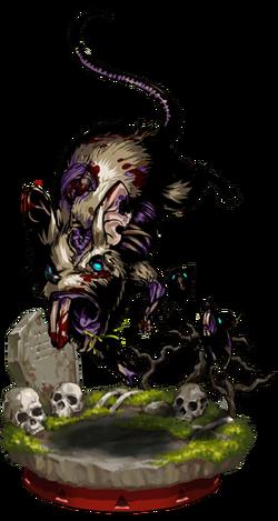Corpse Rat II + Figure
