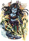 Laola, Demiwyrm Spearbearer II Figure