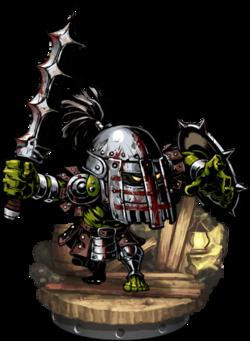 Orcish Brute + Figure