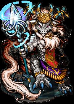 Cegila, Dragonian Incantator II Figure