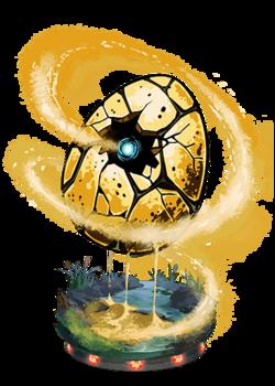 Earthen Egg II Figure