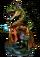 Kan, Lizardman Diviner Figure