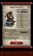 Ragan Harvester II (base stats)