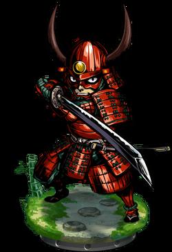Heavy Samurai + Figure