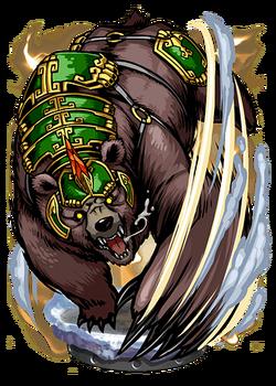 War Bear Figure