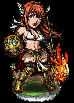 Boudica, the Dawn Chief Figure
