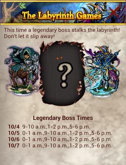 The Labyrinth V SRB Time