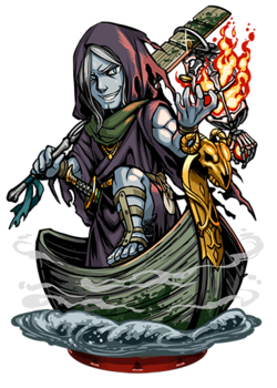 Charon, Novice Ferryman II Figure