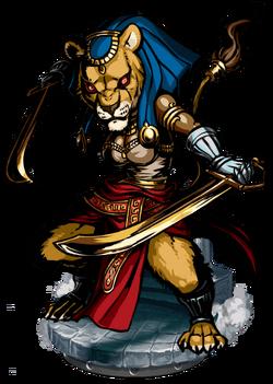 Sekhmet Figure