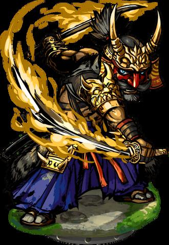 File:Chikaemon, Master Samurai Figure.png