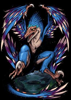 Microraptor Figure