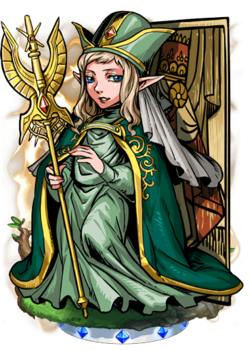 Arcanan High Priestess Figure