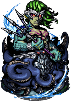Merman Sea Guardian Figure
