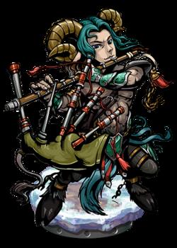 Marsyas, the Cursed Flute II Figure