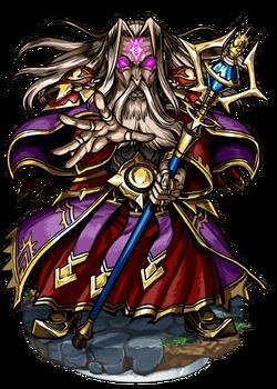 Flamel, Evil-eyed Alchemist Figure