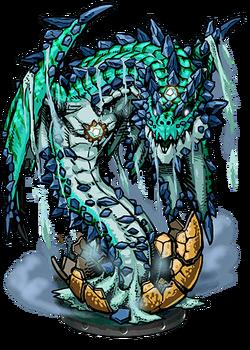Telluric Drake II Figure