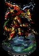The Golden Lance Figure