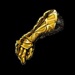Gold Bracers
