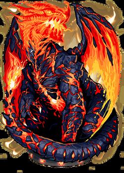 Lava Dragon II Figure