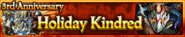 Holiday Kindred 3rd Anniversary Banner