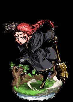 Elven Priestess II + Figure