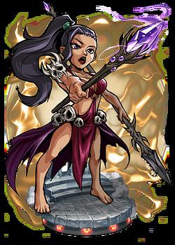 Scathach, Shadow Goddess Figure