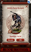 Zombie Berserker GOS Point Reward