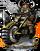 Dwarven Hog Rider Figure