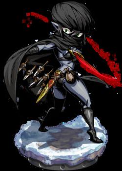Elven Assassin II + Figure