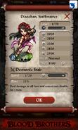 Diaochan, Staffmaster Base Stats
