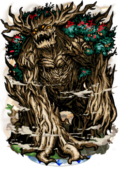 Sagacious Treant Figure