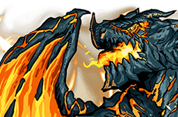 File:Lava Dragon Face.png