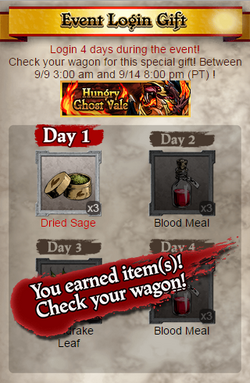 Hungry Ghost Vale Login