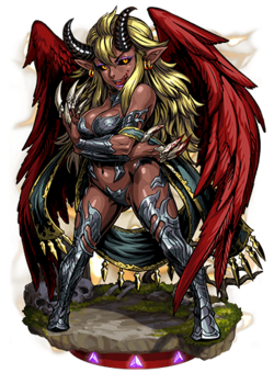 Azazel, the Temptress Figure